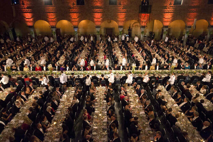 Watch the Nobel Banquet live - worldwide