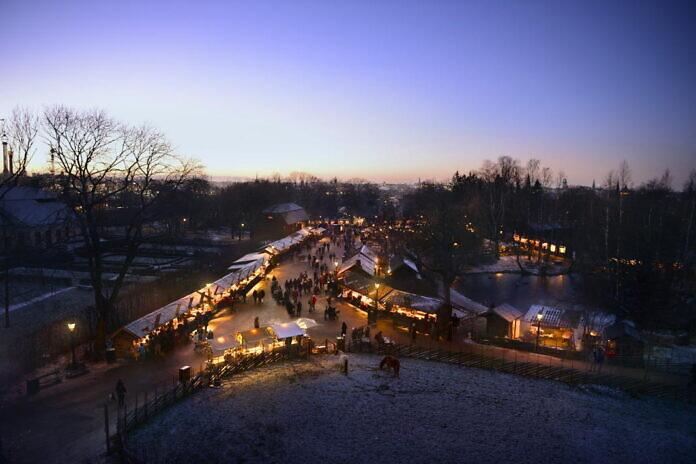 Christmas market at Skansen
