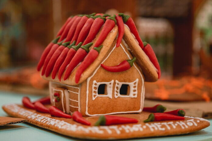 Gingerbread houses at ArkDes Museum in Stockholm 2019/2020