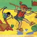 Pippi Longstocking illustrations at Gothenburg Museum of Art