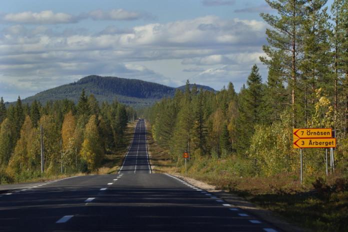 Fjällvägen Riksväg 83/84