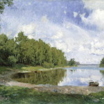 Olof Arborelius, Lake View at Engelsberg, Västmanland, 1893