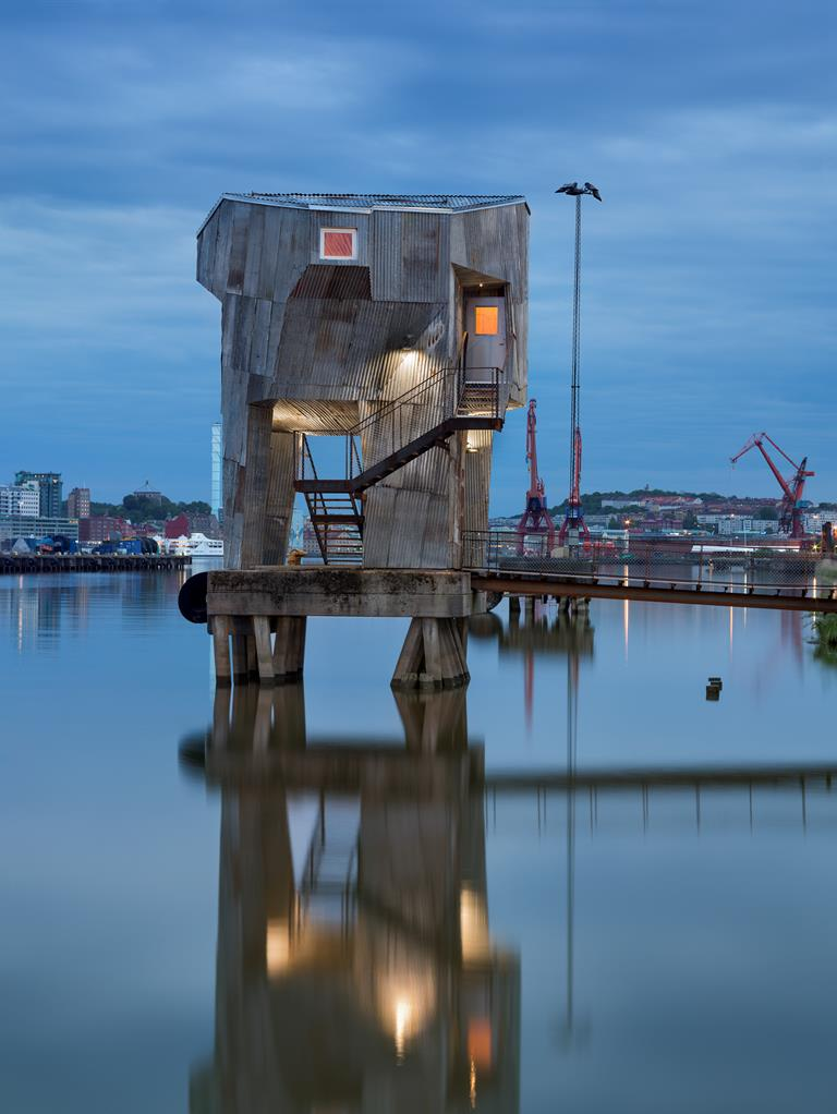 Public sauna in Gothenburg's harbour