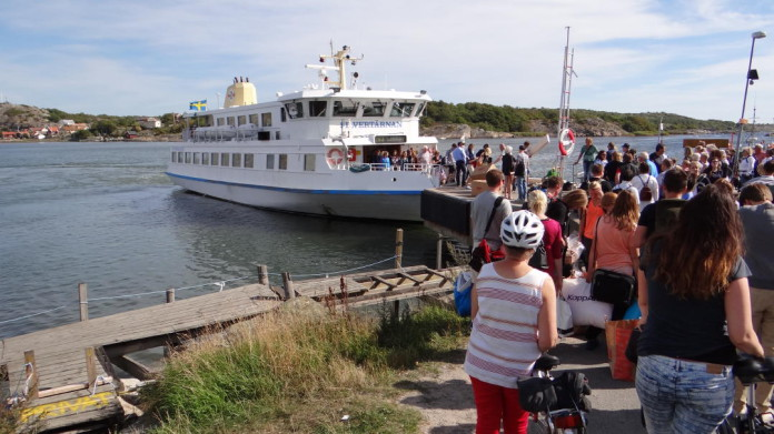 Brännö in the southern archipelago of Gothenburg