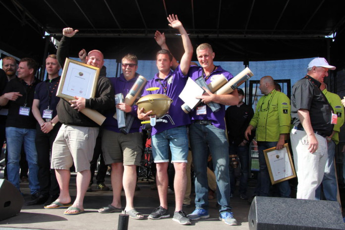 The happy winners in team British Bulldog BBQ received first prize and may now call themselves Grand Champions