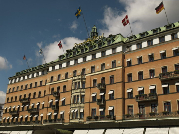 Christmas smorgasbord at the Grand Hôtel in Stockholm