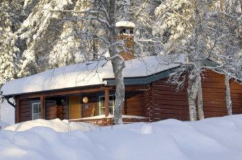 Cottages in Idre Fjäll, photo Nisse Schmidt