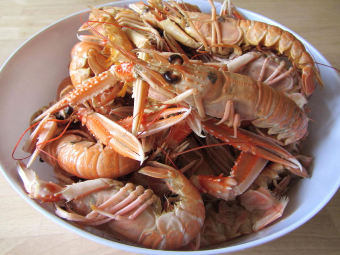 Crayfish party in Sweden
