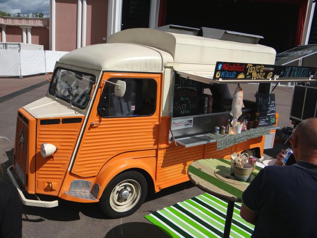 Food trucks in Gothenburg