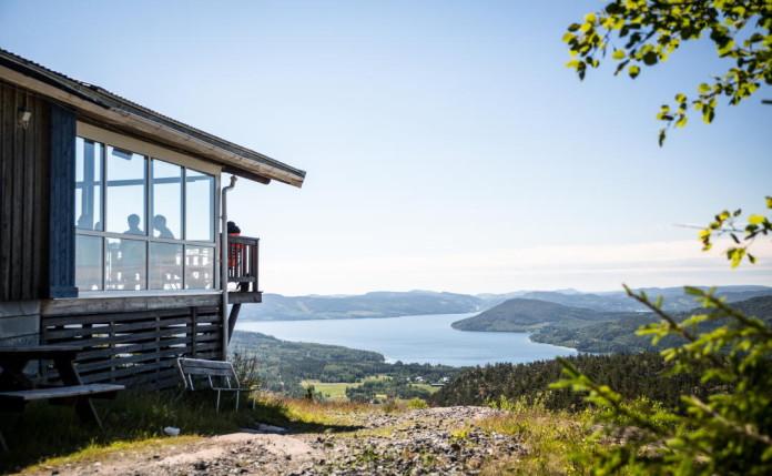 The Swedish High Coast: Summit restaurant on Skule moutain