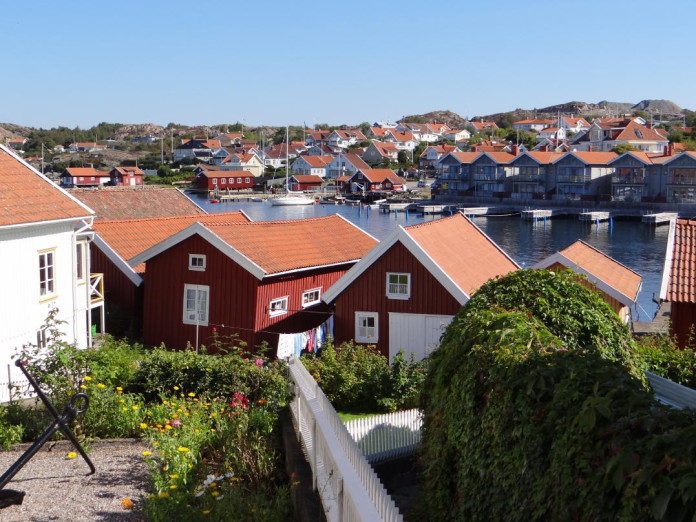 Gullmarsstrand Hotel in Fiskebäckskil, Bohuslän (north of Gothenburg)