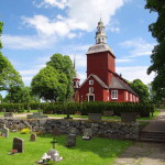 Habo Church in Vastergotland
