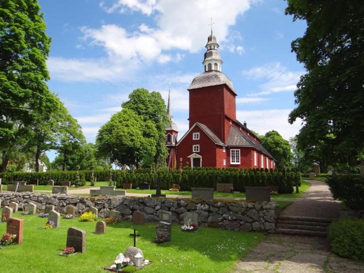 Habo Church in Västergötland