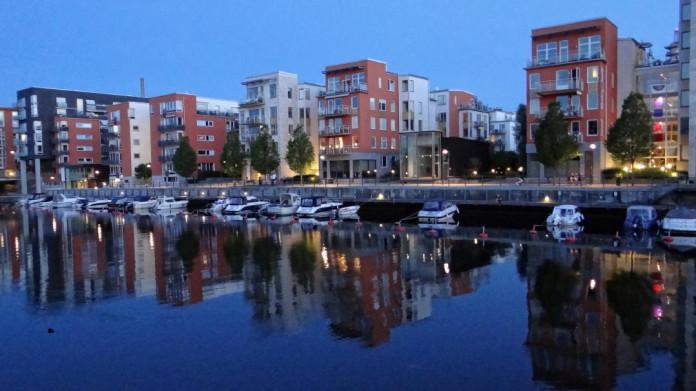 Hammarby Sjöstad in Stockholm