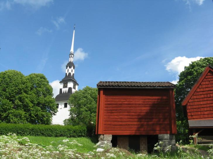 Ingatorp Church near Eksjö in Småland