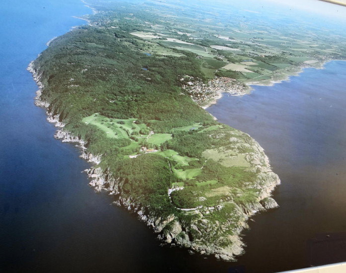 The Kulla peninsula and the Kullaberg