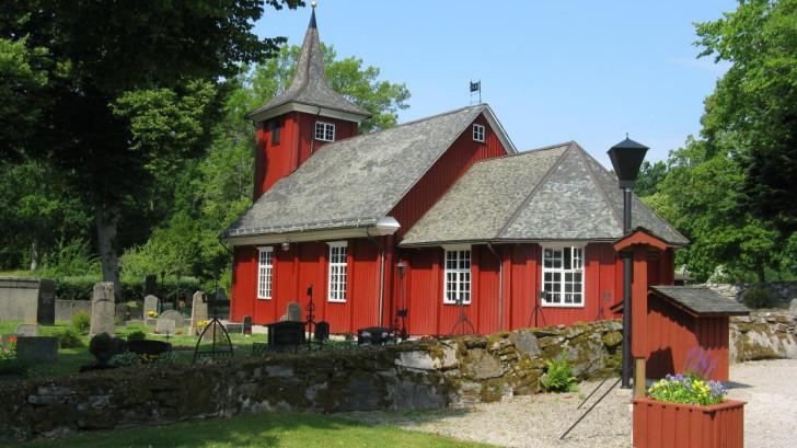 Skållerud church in Dalsland