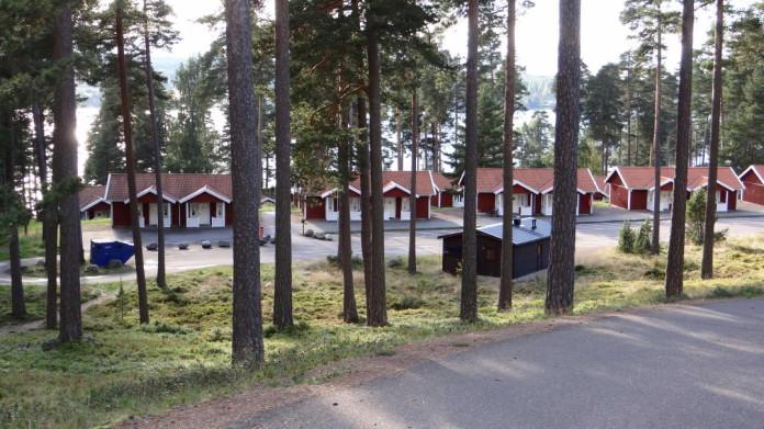 Leksand Strand in Dalarna