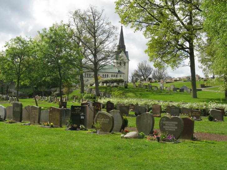 Lindome Church in Mölndal, south of Gothenburg