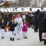 Lucia celebrations at Skansen, Stockholm