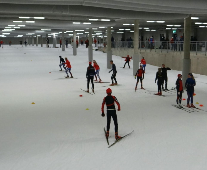 New arena and hotel in Gothenburg with indoor ski track