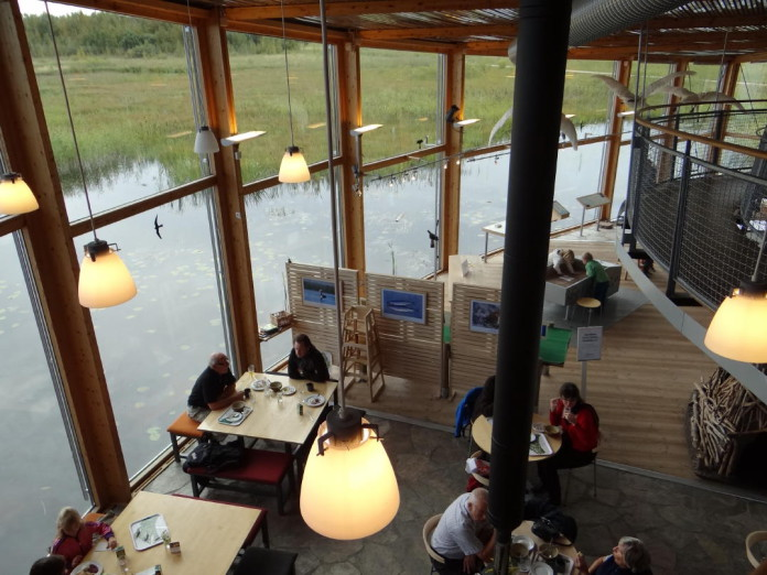 Naturum visitors centres in Sweden