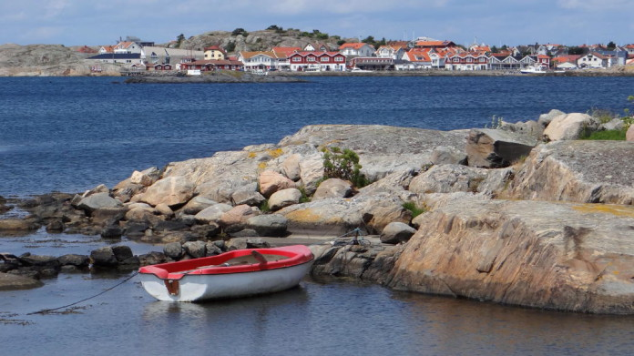 A view on Hönö Klåva harbour area