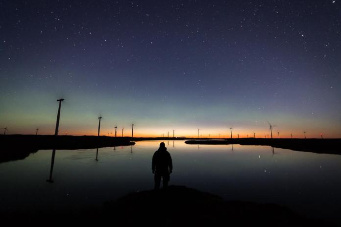 Northern lights filmed in stunning quality