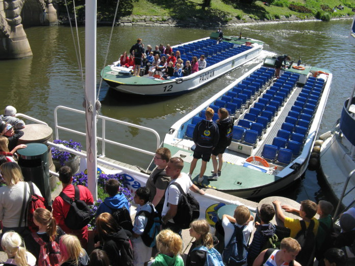 The classic Paddan boat tour in Gothenburg