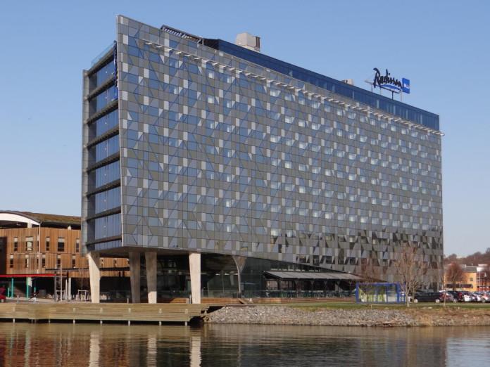 The Radisson Blu Riverside Hotel in Gothenburg