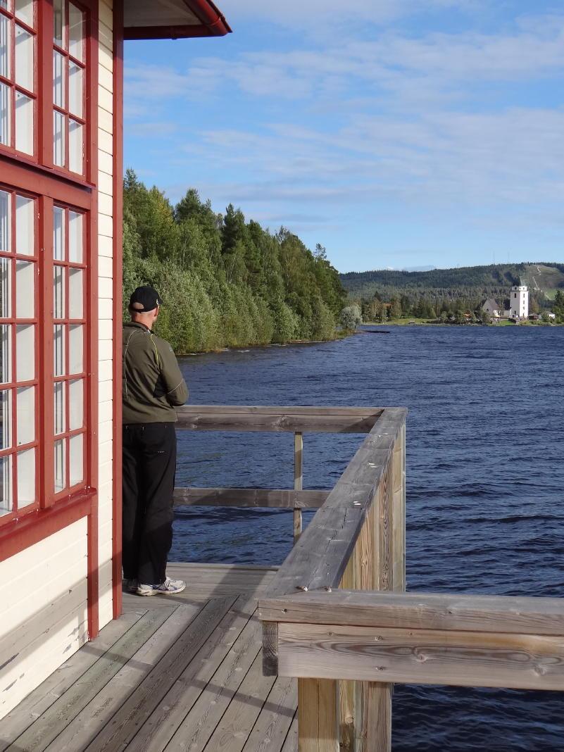Rättvik Persborgs Brygga pier