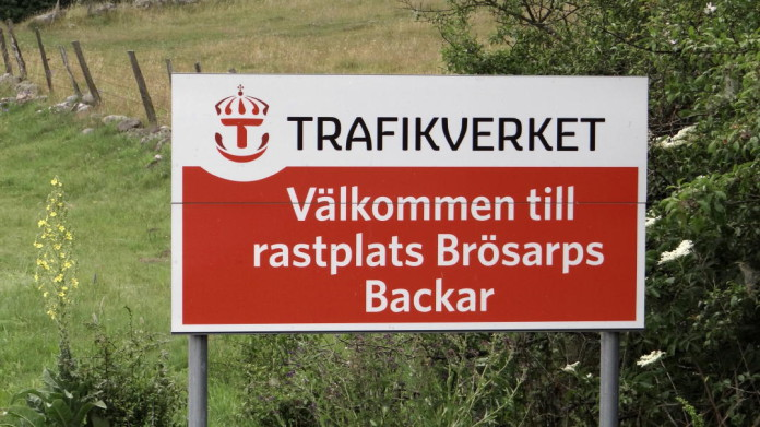 Rest areas in Sweden: Brösarps backar