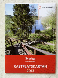 Rest areas in Sweden: Rastplatskartan