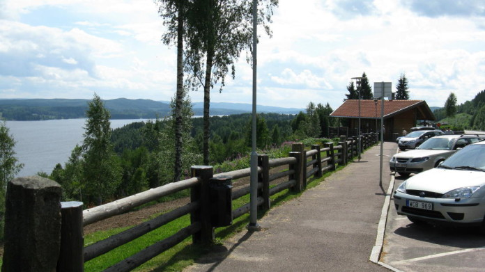 Rest areas in Sweden: Tossebergsklätten