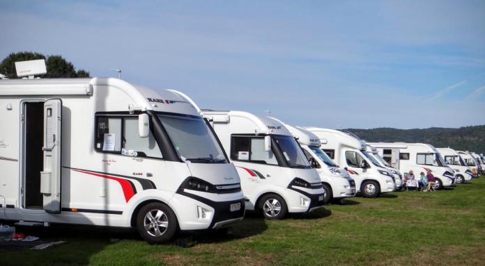 The Scandinavian Caravan Show at Elmia in Jönköping, Småland