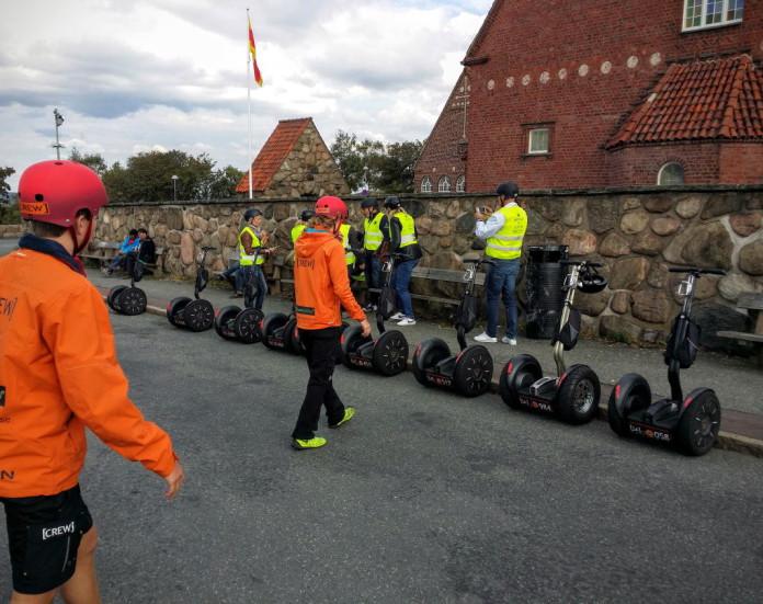 Segway tours in Gothenburg