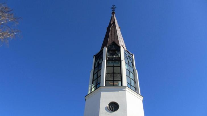 Skallsjö Church in Floda, east of Gothenburg