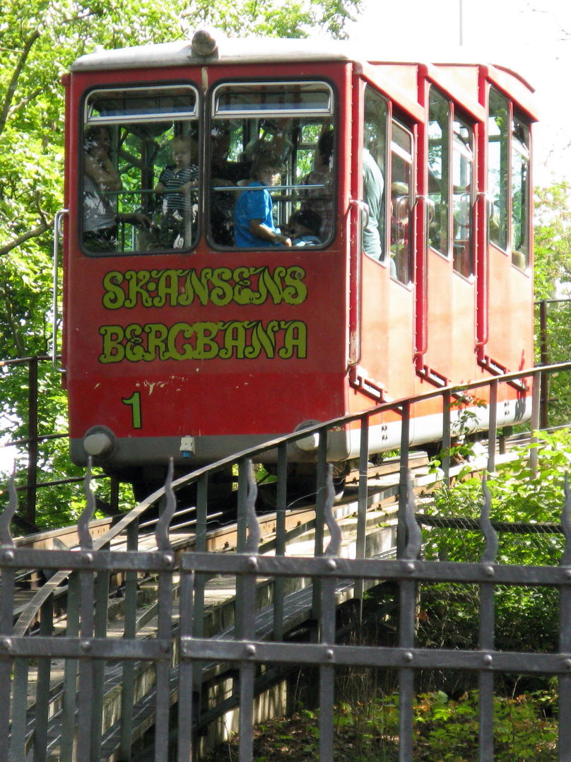 The open-air museum Skansen in Stockholm