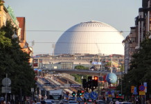 SkyView and Stockholm Globe Arena