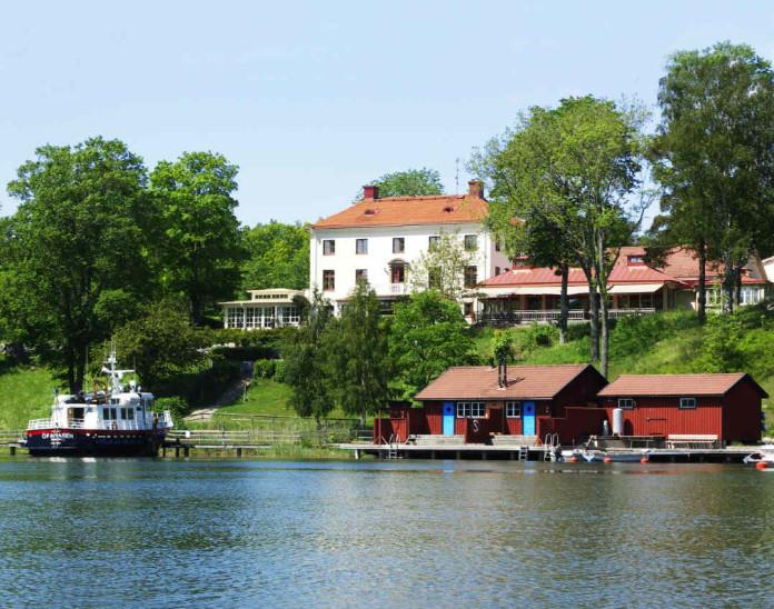 Smådalarö Gård hotel in the Stockholm archipelago