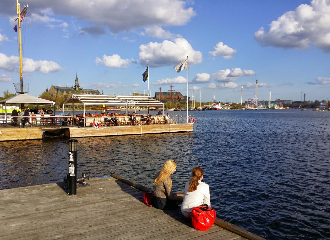Stockholm in May