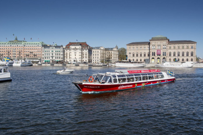 Stockholm sightseeing by boat
