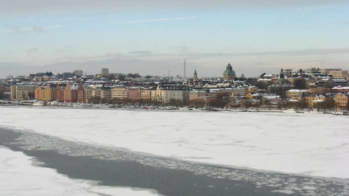 Stockholm in February