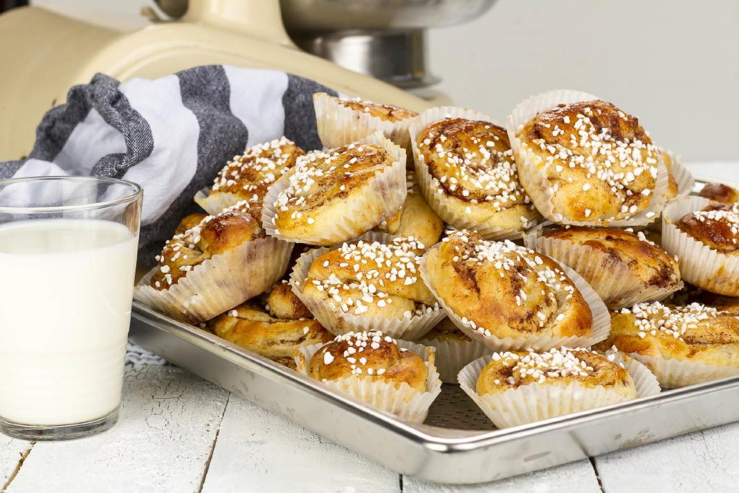 Swedish cinnamon rolls/buns