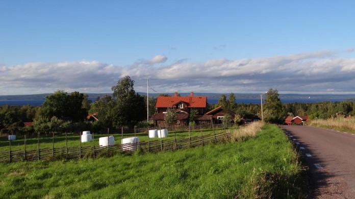 Tällberg by Lake Siljan, Dalarna