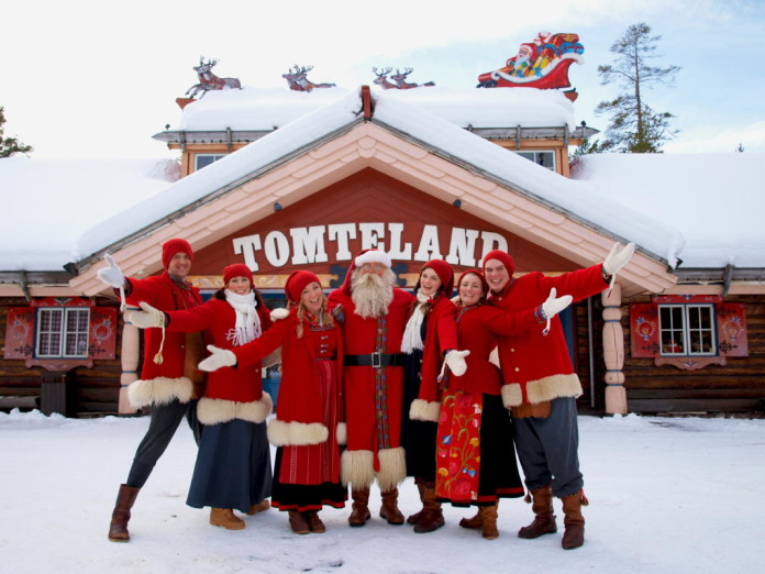 "The ""Tomteland"" Santaworld in Mora"
