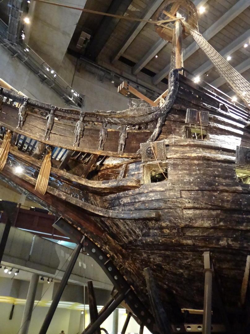 The warship Vasa at the Vasa Museum in Stockholm