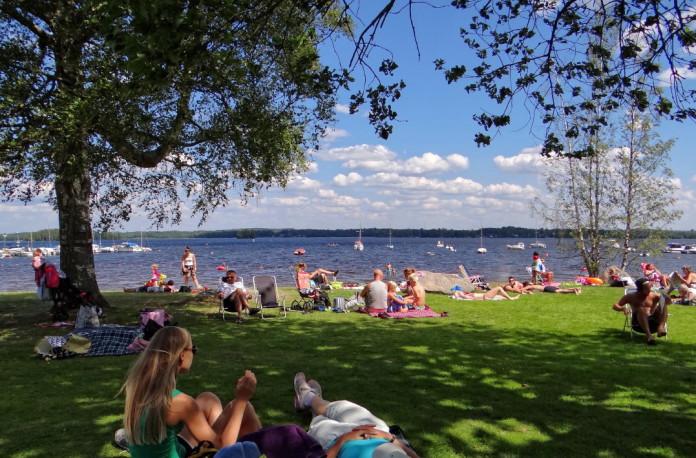 A lake near Växjö in Småland