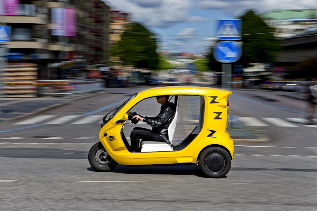Zbee taxi in Gothenburg